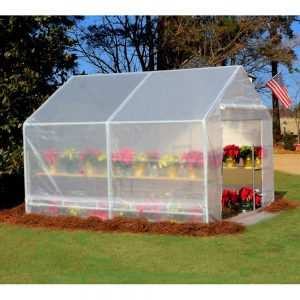 King Canopy GH1010 10-Feet by 10-Feet Fully Enclosed Greenhouse