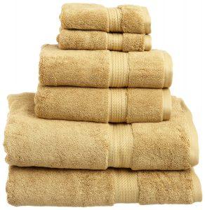 Superior 900 Gram 100% Premium Long-Staple Combed Cotton 6-Piece Towel Set