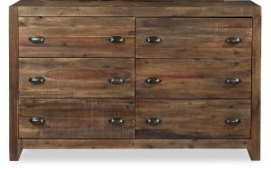 Magnussen B2375-20 River Ridge Wood 6-Drawer Dresser