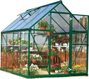 Palram Nature Series Hybrid Hobby Greenhouse